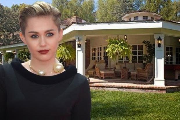 Miley Cyrus beli rumah baru lengkap dengan ladang anggur