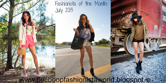 Fashionista of the Month July 2013 Fashion Blog