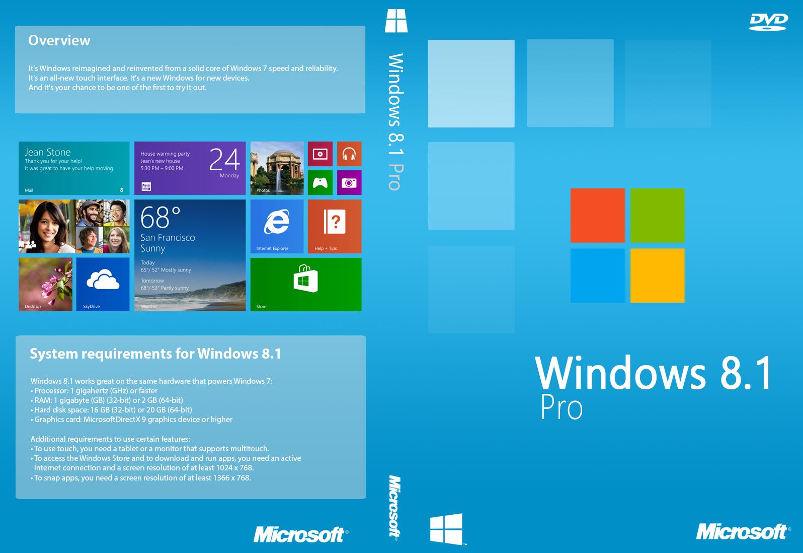 Download Windows 8.1 Pro VL Update 1 x86 e x64 PT-BR
