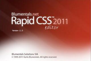 Blumentals Rapid CSS 2011 v11.4.0.133 Full Keygen