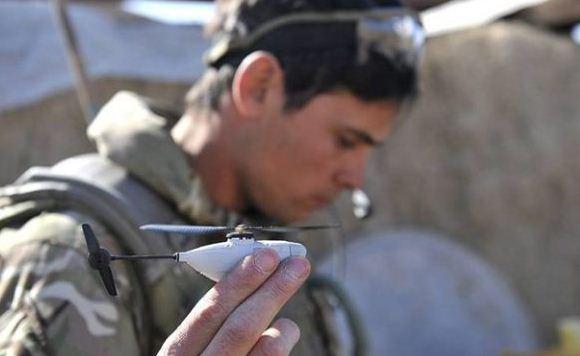 Helikopter nano Black Hornet