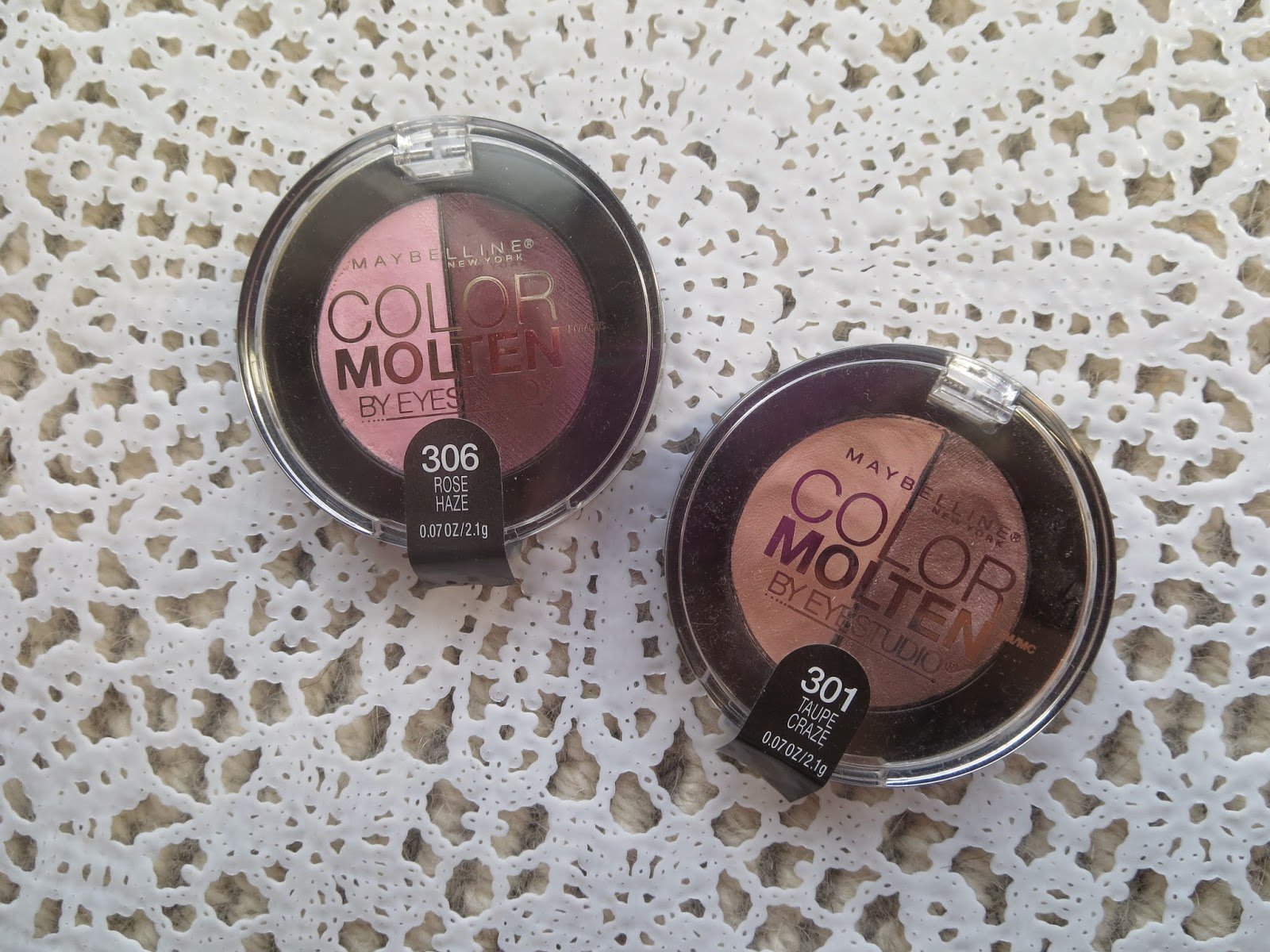 a picture of Maybelline Color Molten Rose Haze, Taupe Craze