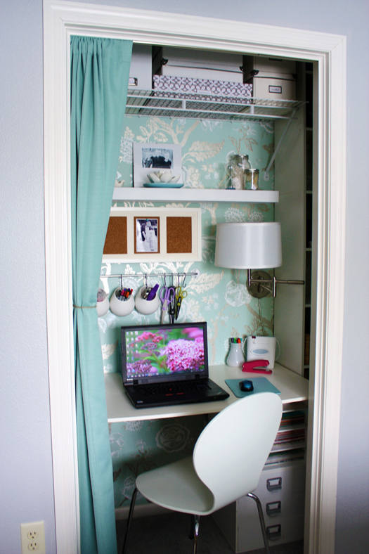 Remodelaholic Closet Office Inspiration Galore