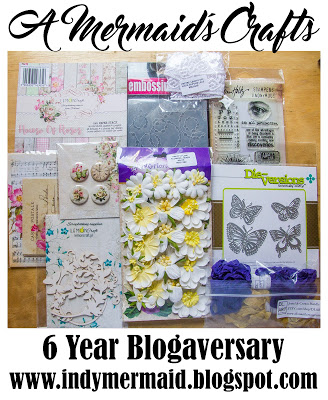 A Mermaid's Crafts 6 year Blogaversary Giveaway!!!