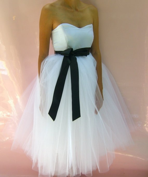 Wedding Dresses With Tulle : I heart wedding dress short tulle dresses