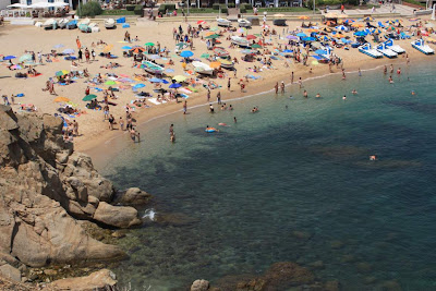 Blanes beach in La Costa Brava