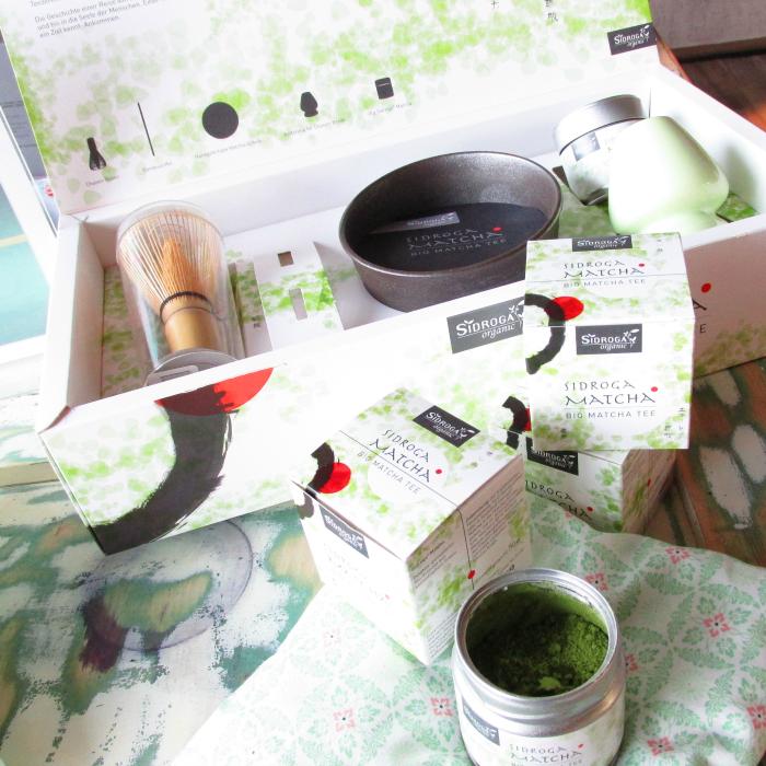 Yupik Infodays 2015 - Baden-Baden - Sidroga Organic Bio Matcha Tee & Set