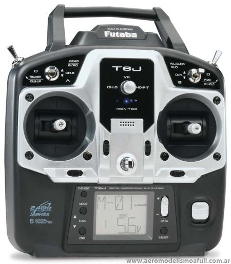 Futaba 6J S-FHSS 2.4GHz Radio