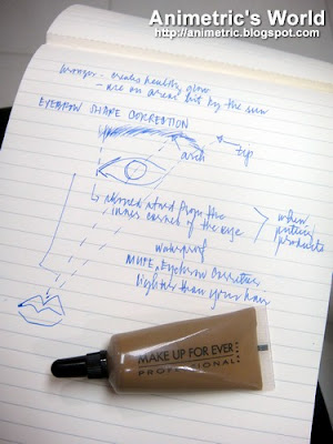 Notes from make-up class