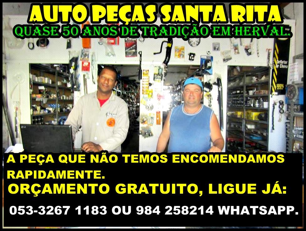 AUTO PEÇAS SANTA RITA.