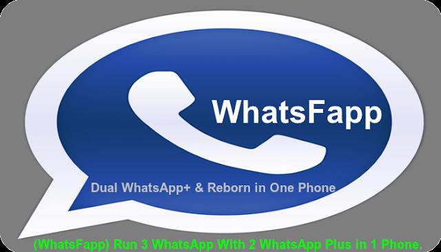 WhatsFapp v1.20 (Dual WhatsApp+ Reborn in One Phone) Image
