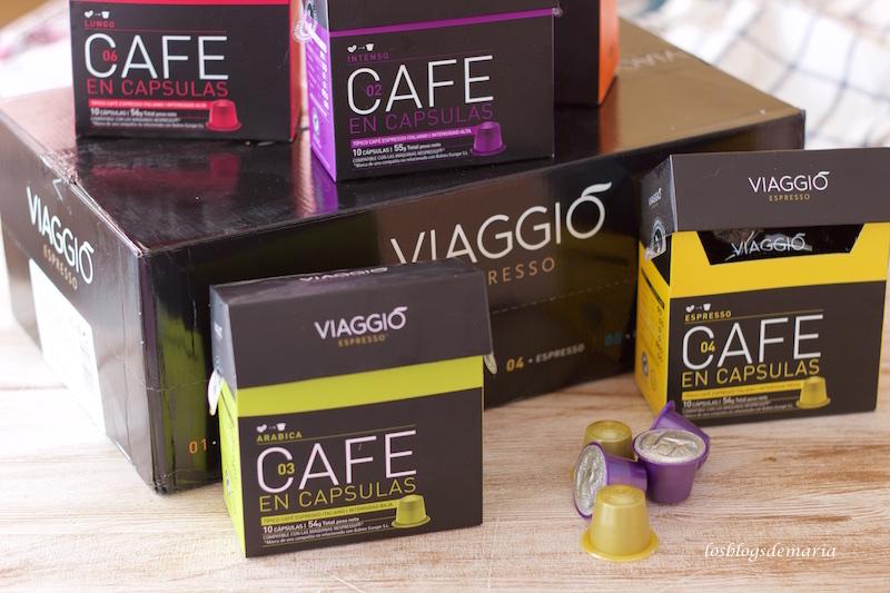 Café en cápsulas Viaggio
