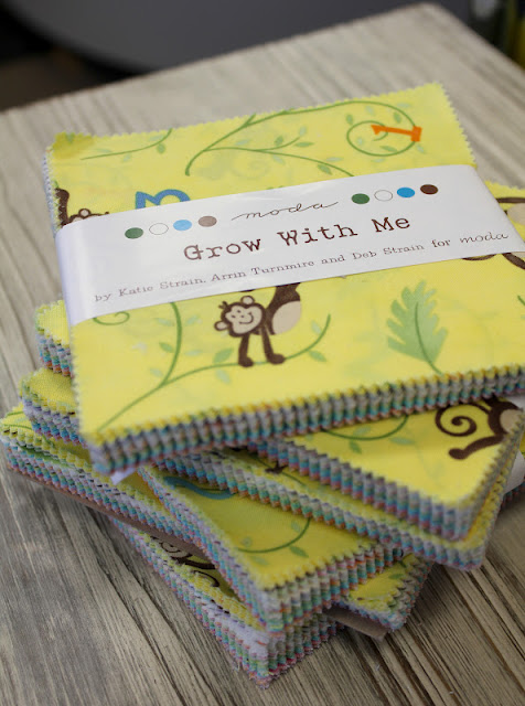 Fabric Mill: Grow With Me Charm Pack