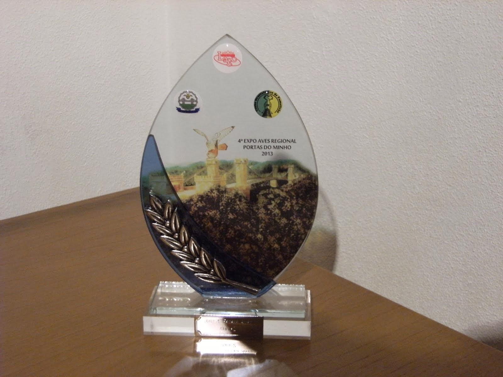 4 Expo Aves Regional do Minho ( 2 Ouro )