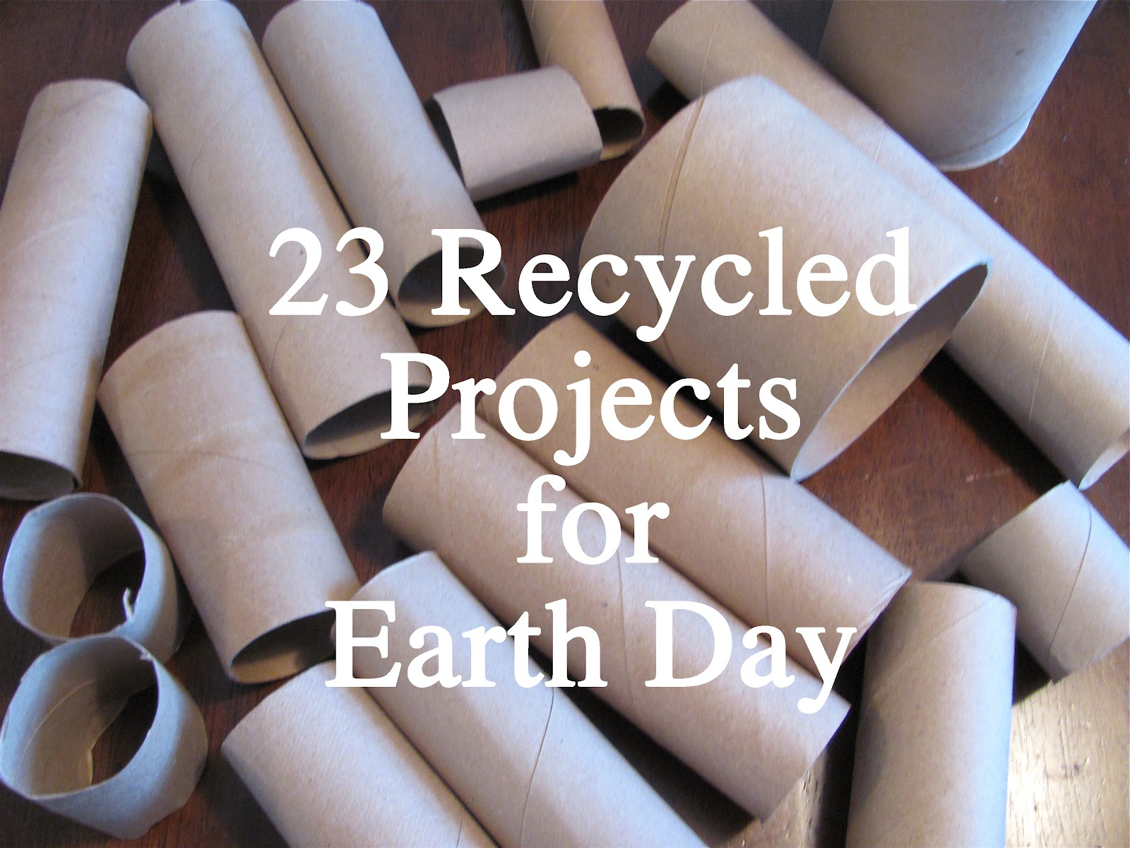The chocolate muffin tree 23 recycled projects for earth day for Easy recycling ideas