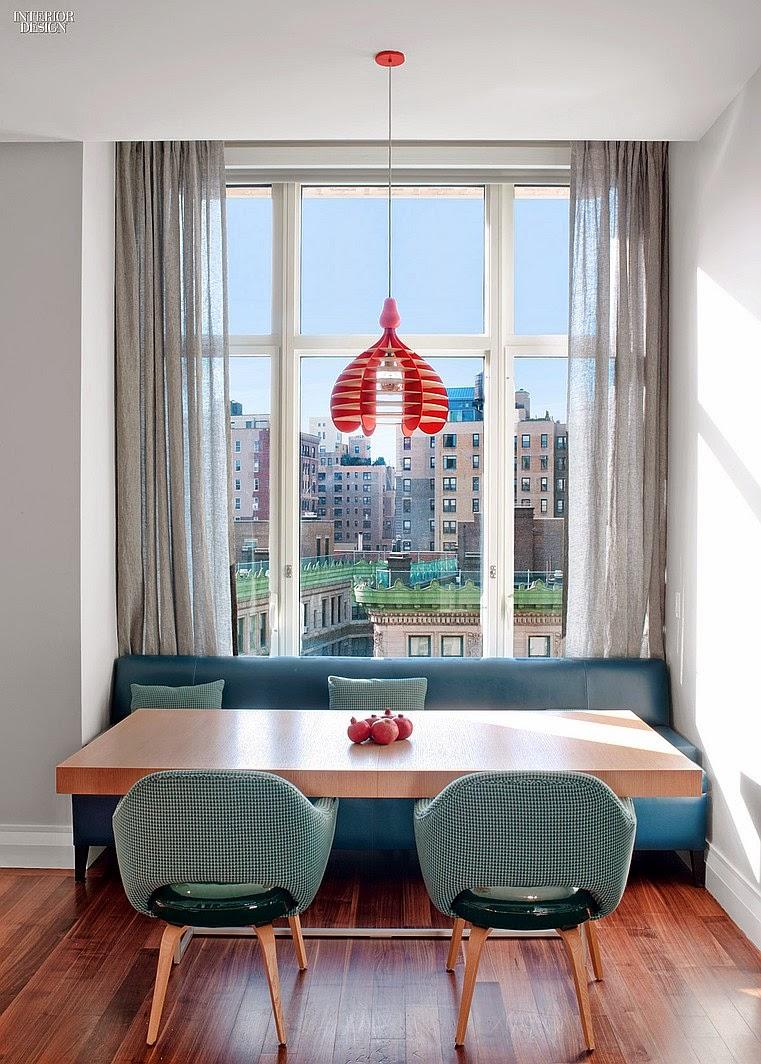 Leben und Wohnen mit Kindern - Sofa in der Küche als sicheres Sitzmöbel für Kinder