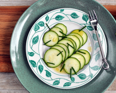 Zucchini Carpaccio ♥ AVeggieVenture.com. Low Carb. WW2. Super Simple.