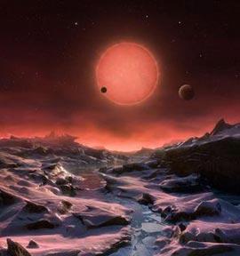 Tres nuevos planetas similares a Tierra podrían tener vida