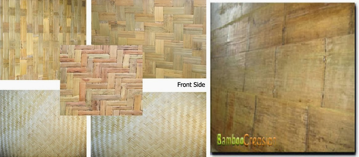 Covering Wall Paneling : Quality bamboo and asian thatch bamboowallpanel