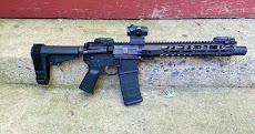 Pew-Pew, an AR15 pistol