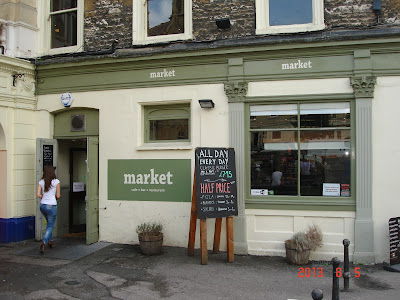 market bar restaurant Bath