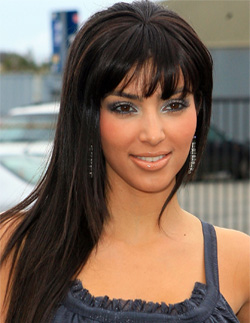 cute long straight hairstyles with full color hair for