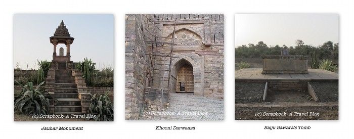 Khooni darwaaza bawara tomb jauhar memorial