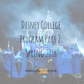 Keys to My Life | Disney College Program Part 2: Spring 2016