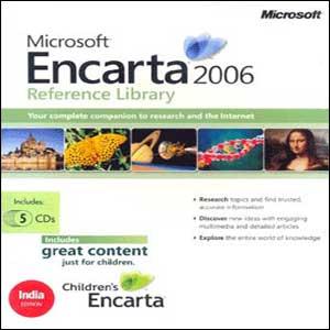 Microsoft encarta kids 2012