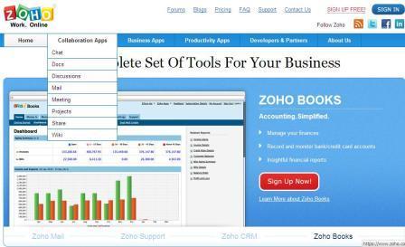 zoho collaboration application