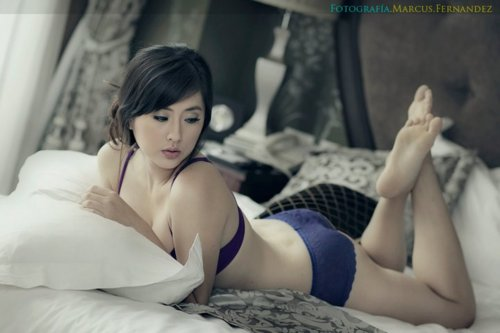 Chinese amateur dj with fishnet stockings - 1 part 6