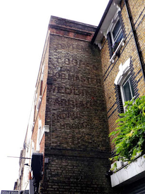 copper ghost sign wedding carriages stoke newington
