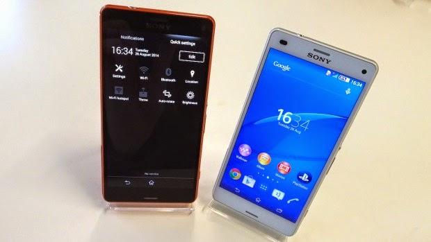 Sony Xperia Z3, Xperia Z3 Compact