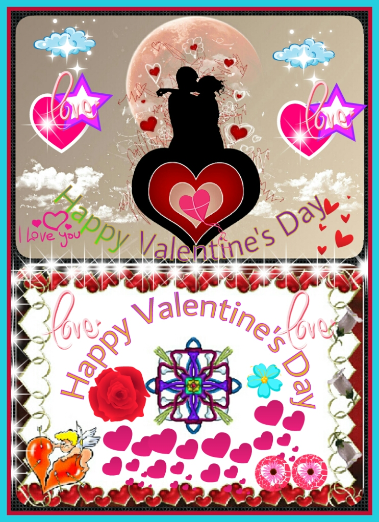 Flowers for flower lovers happy valentines day cards for Designs for valentine cards