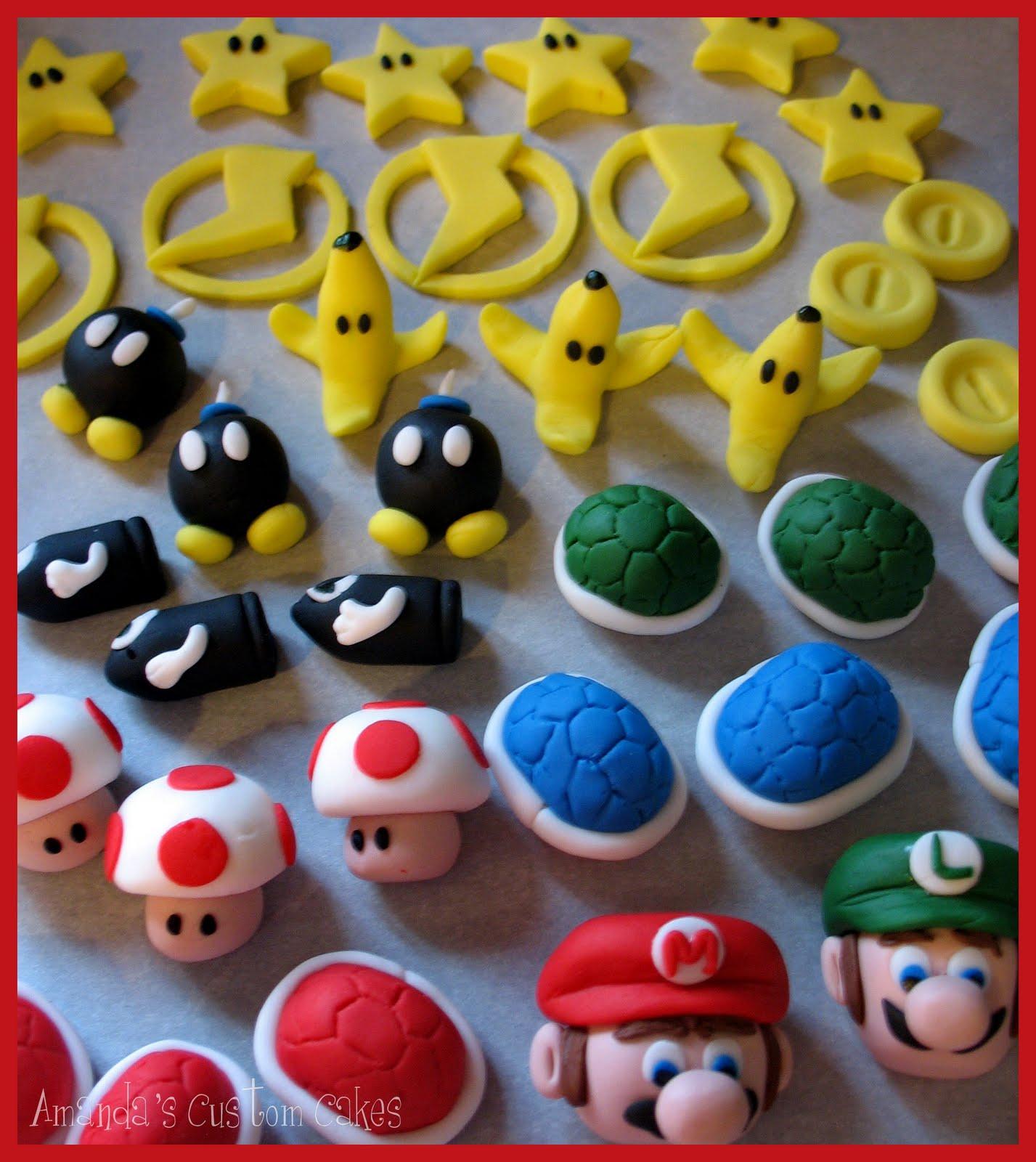Mario Bros Cake Toppers Australia