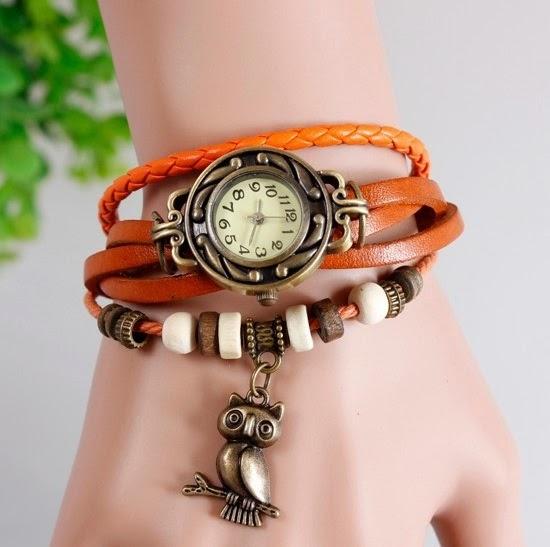 Reloj pulsera buho