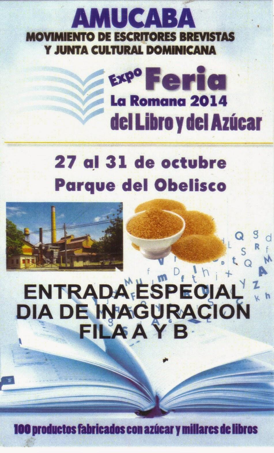 Expo Feria del Libro y del Azúcar