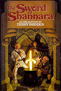Book cover, fantasy, sword of shannara