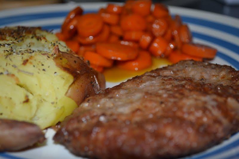 Fried Round Steak