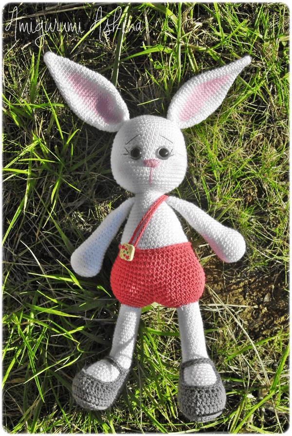 Amigurumi Tav?an Pamuk-Amigurumi Rabbit - Knitting ...