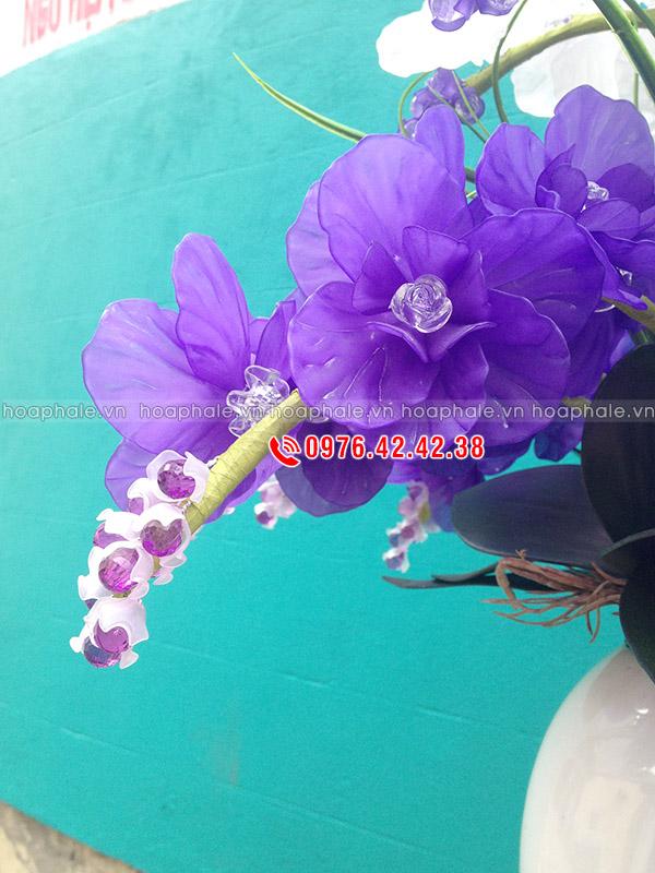 Nguyên liệu làm hoa pha lê hoa lan hồ điệp