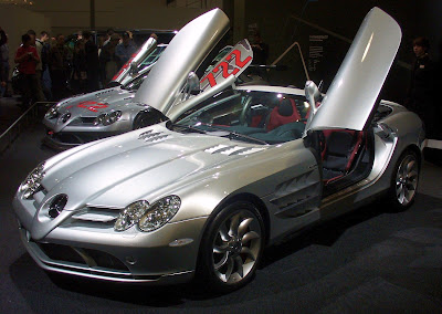 AUTO DEPORTIVO MERCEDES BENZ SLR MCLAREN CARRO VERSION COUPE