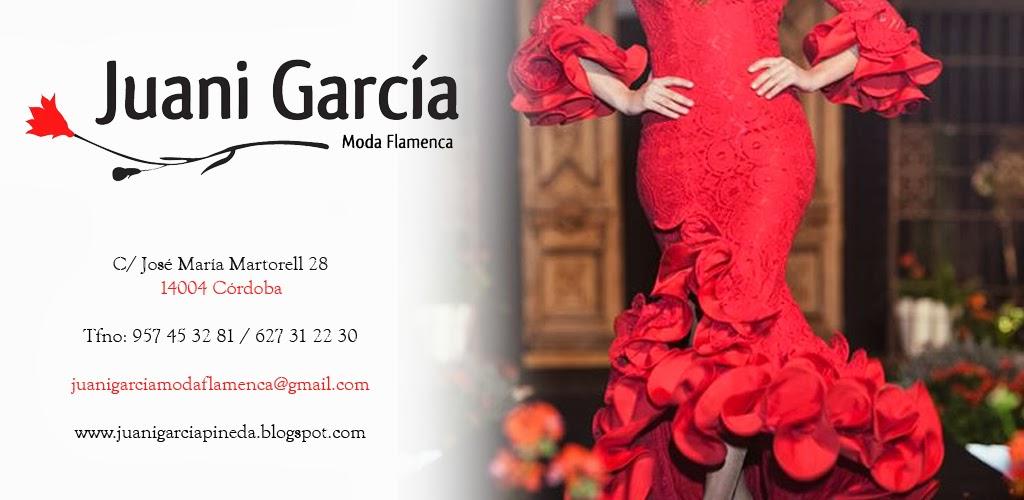 Juani García. Moda Flamenca