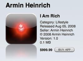 i am rich uygulaması