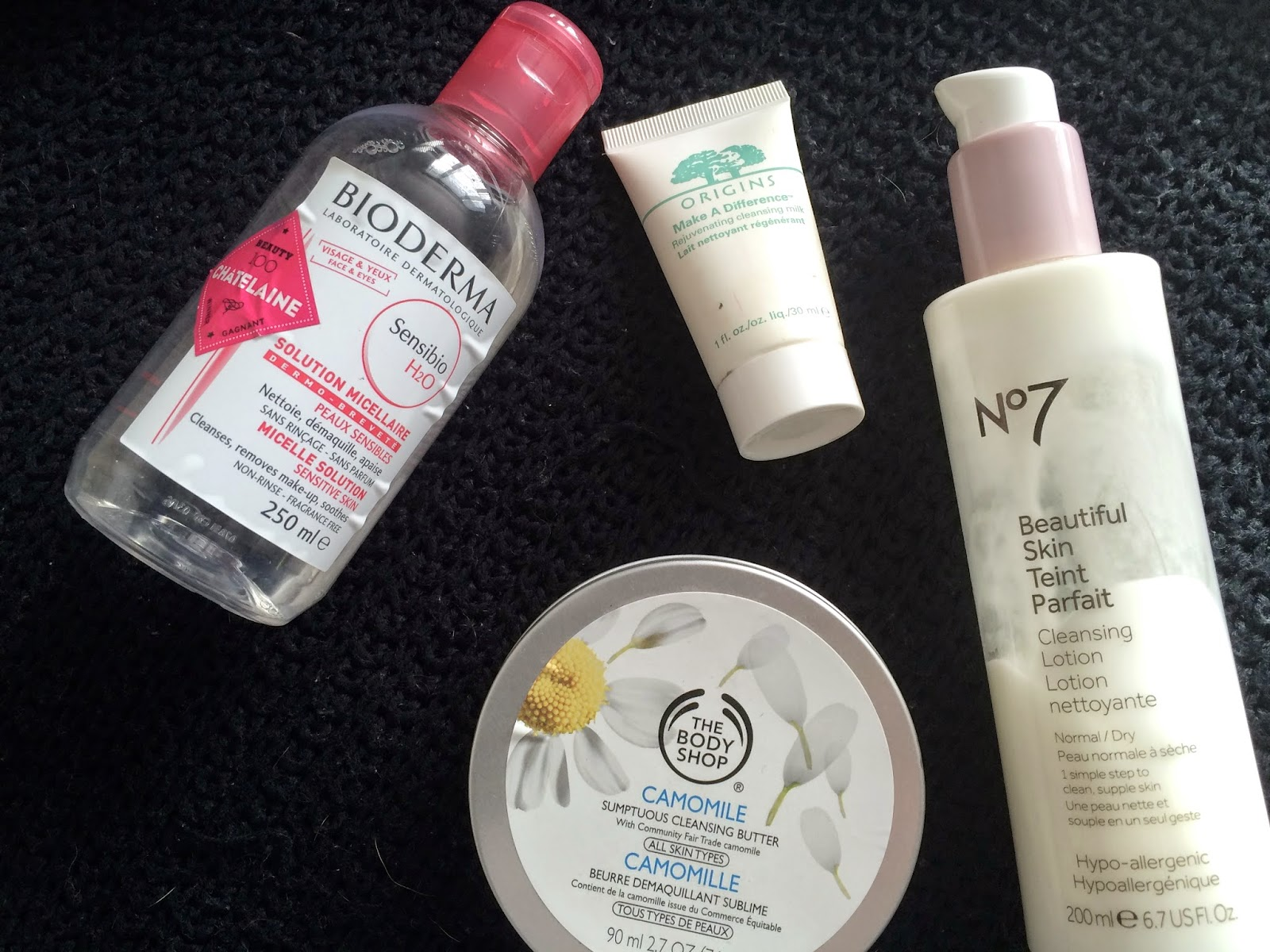 cleanser, remover, bioderma h2o micellar, the body shop, milk, balm