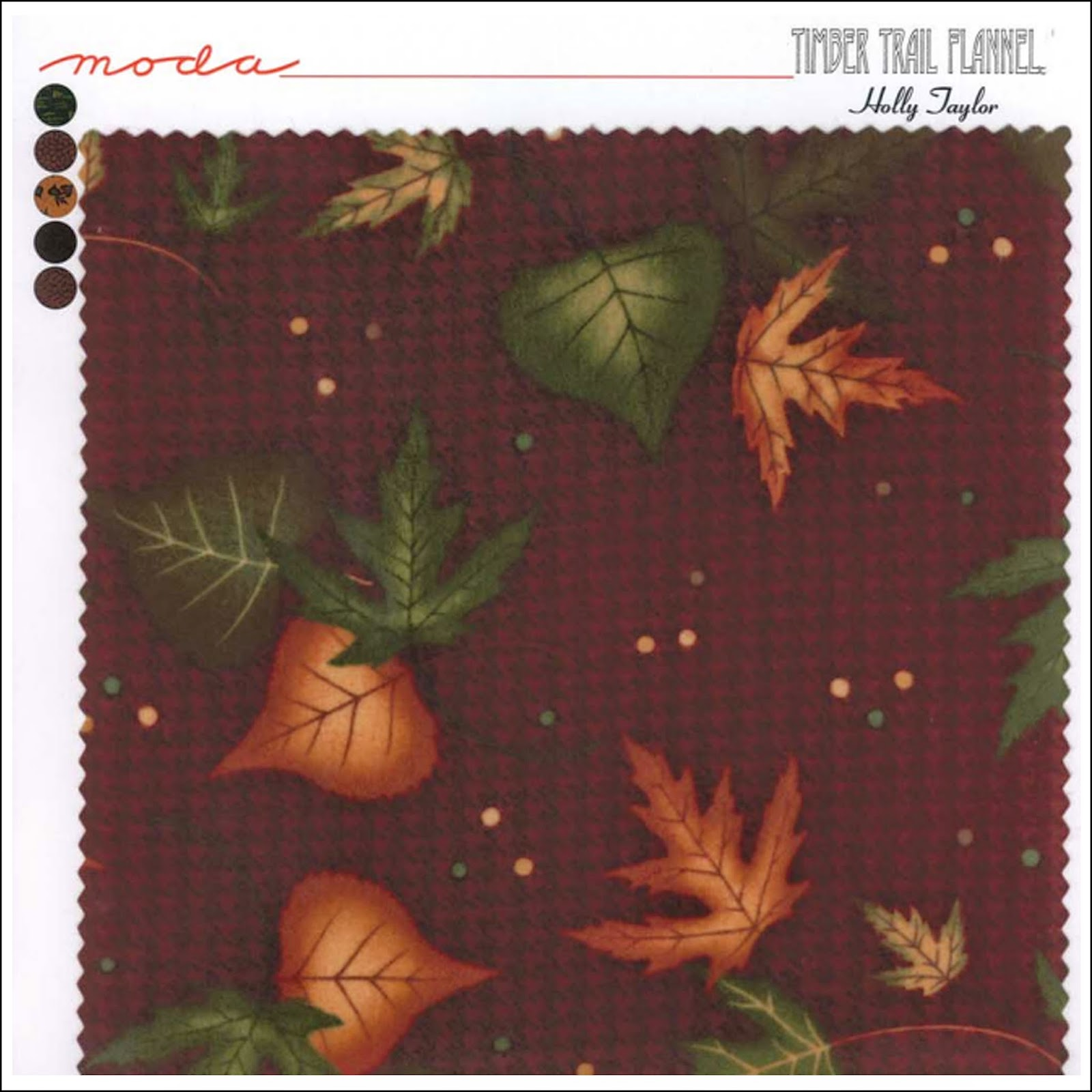 Moda TIMBER TRAIL FLANNELS Quilt Fabric by Holly Taylor for Moda Fabrics