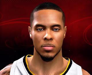 NBA 2K13 DJ Augustin Cyberface Mod