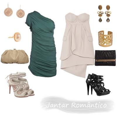 Vestidos para Jantar Romântico