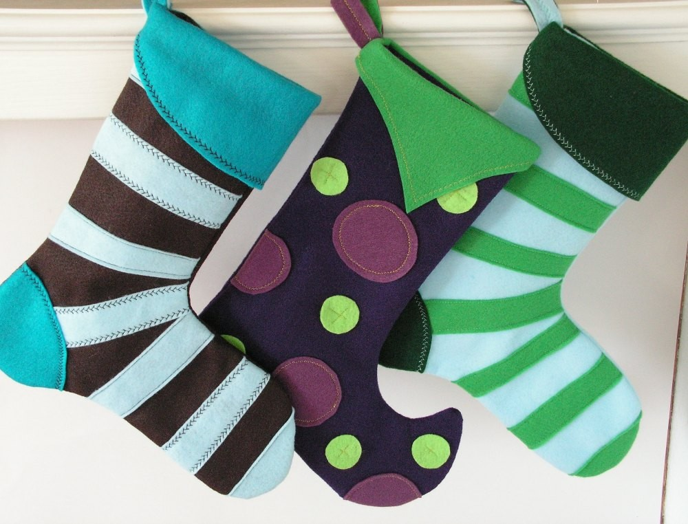 handmade christmas stockings the free images. Black Bedroom Furniture Sets. Home Design Ideas