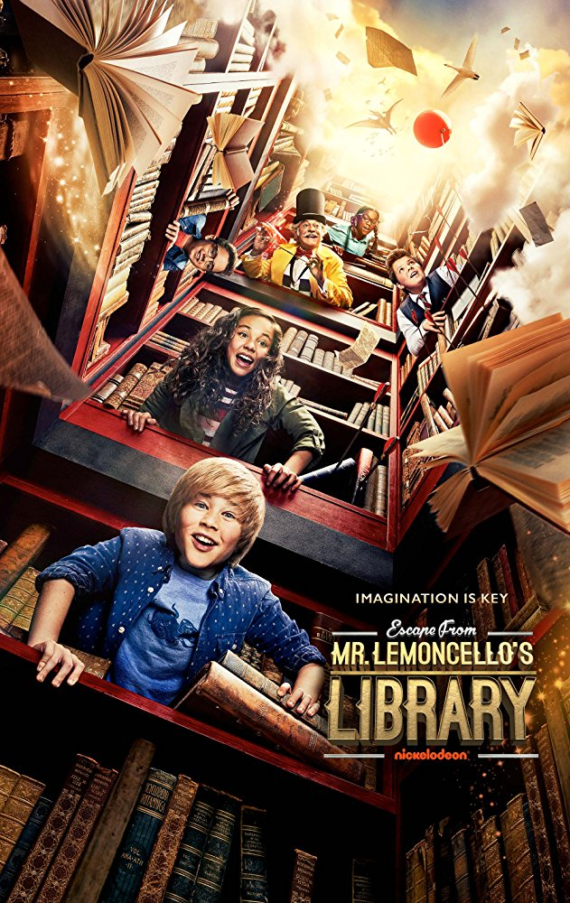 Escape from Mr Lemoncellos Library (2017)